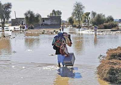 خسارت سیل خوزستان ۴ برابر خسارت سیل هرمزگان، کرمان و سیستان و بلوچستان
