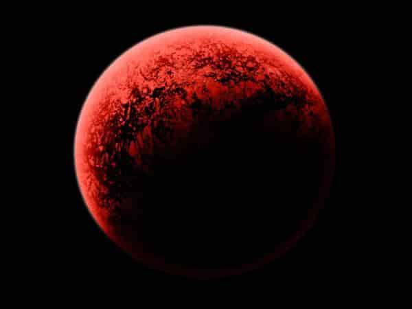 سیاره قرمز کشف شد