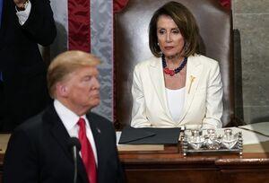 ترامپ: متشکرم نانسی!