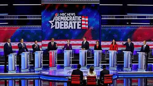 حمله به ترامپ در مناظره انتخاباتی دموکراتها