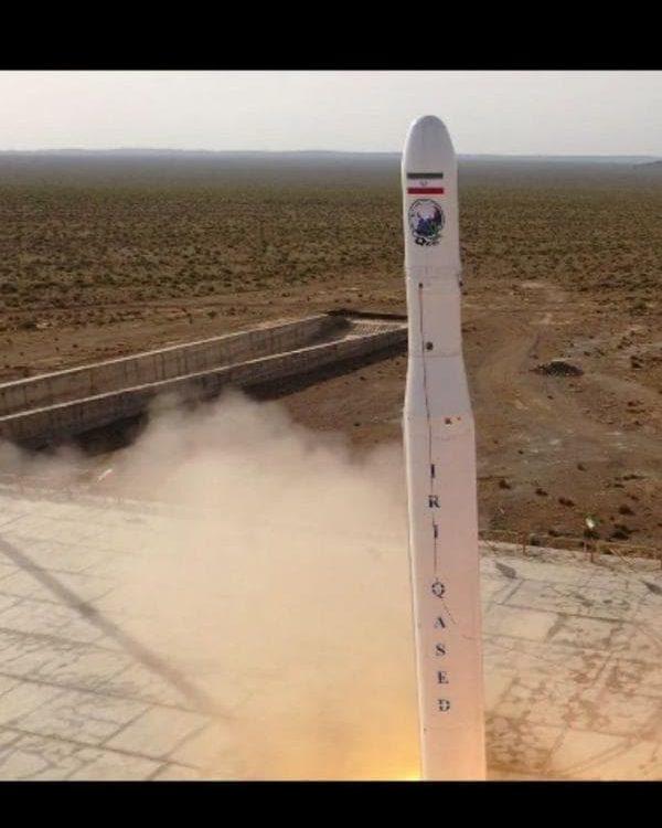 سپاه: پرتاب موفق نخستین ماهواره نظامی جمهوری اسلامی ایران