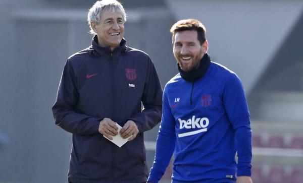 واکنش «ستین» سرمربی بارسلونا به اظهارات بحث برانگیز مسی