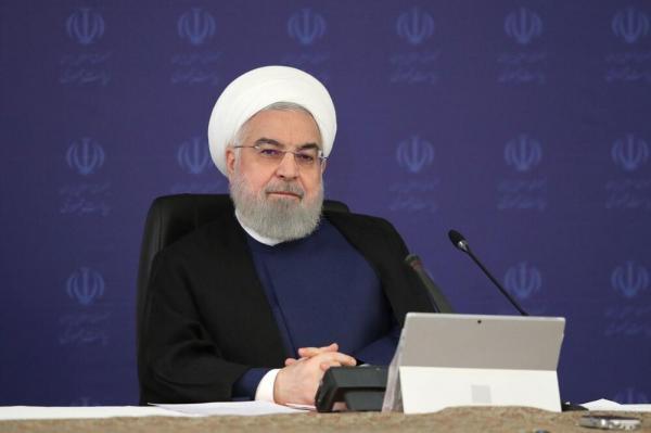 روحانی: امروز محدوديتهای شديد اسفند و فروردين مد نظر نيست اما مردم بايد اصول بهداشتی را رعايت کنند