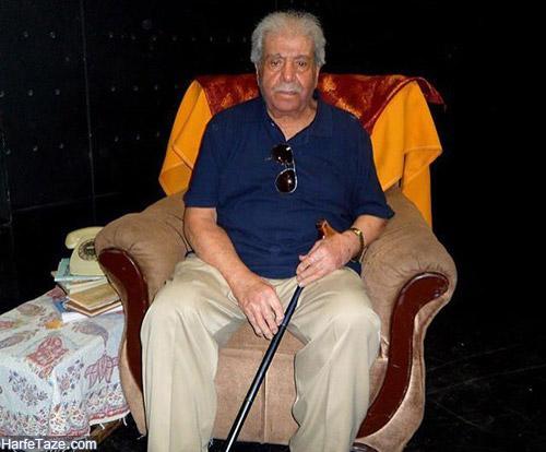 استاد نصرت الله وحدت بازیگر سینما و تئاتر در سن 95 سالگی دارفانی را وداع گفت