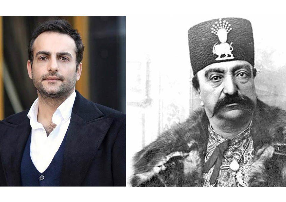 حامد کمیلی در نقش ناصرالدین شاه